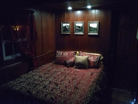 Caboose Bedroom